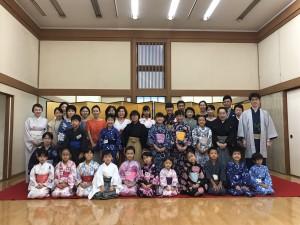 2017夏休み伝統文化親子教室